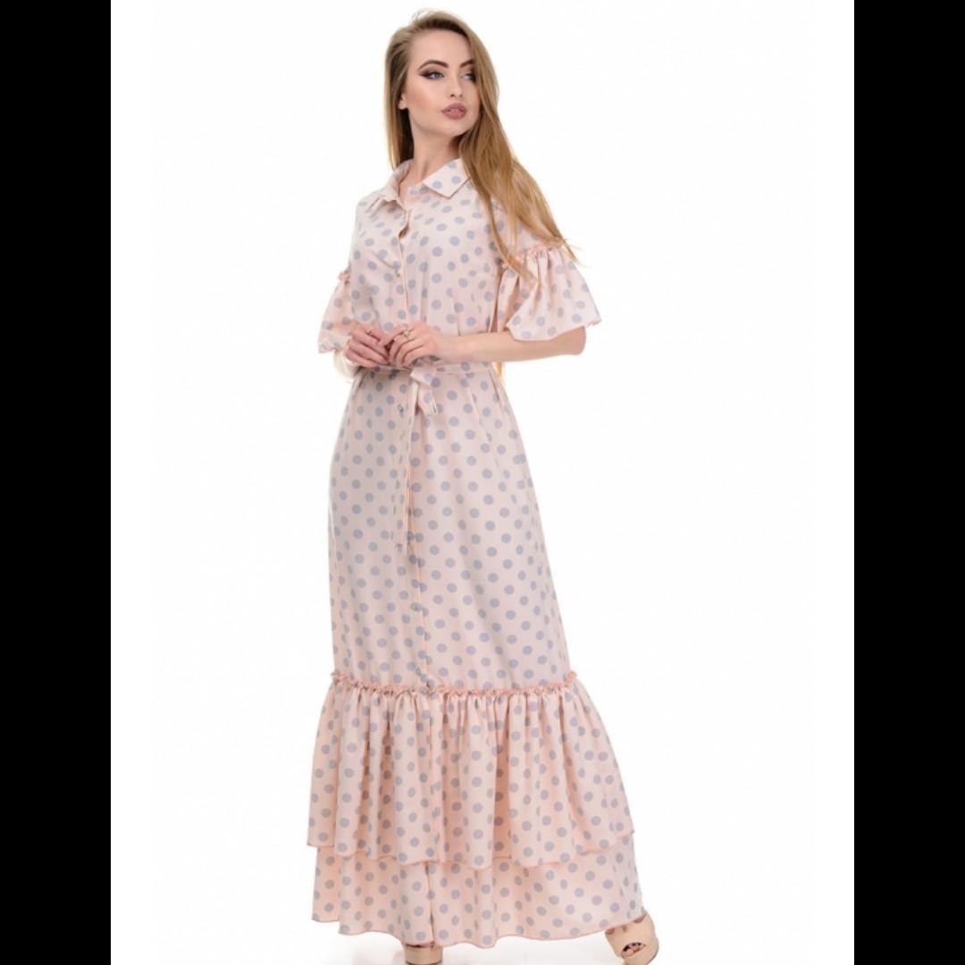 Сукня, колір горох