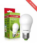 Eurolamp LED Лампа A60 7W E27 4000K (100)