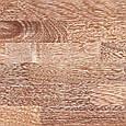 Паркетная доска Grabo Viking Мербау браш белый лак 3-пол., фото 3