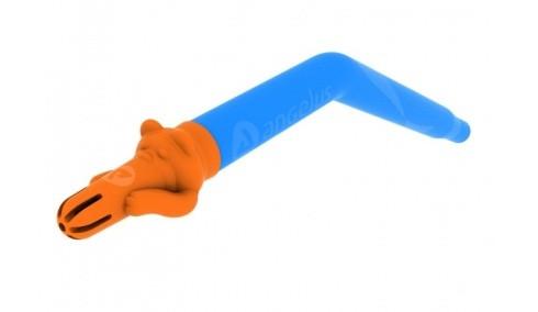 Слиновідсмоктувачі Angie - 1 шт., помаранчевий, багаторазового використання