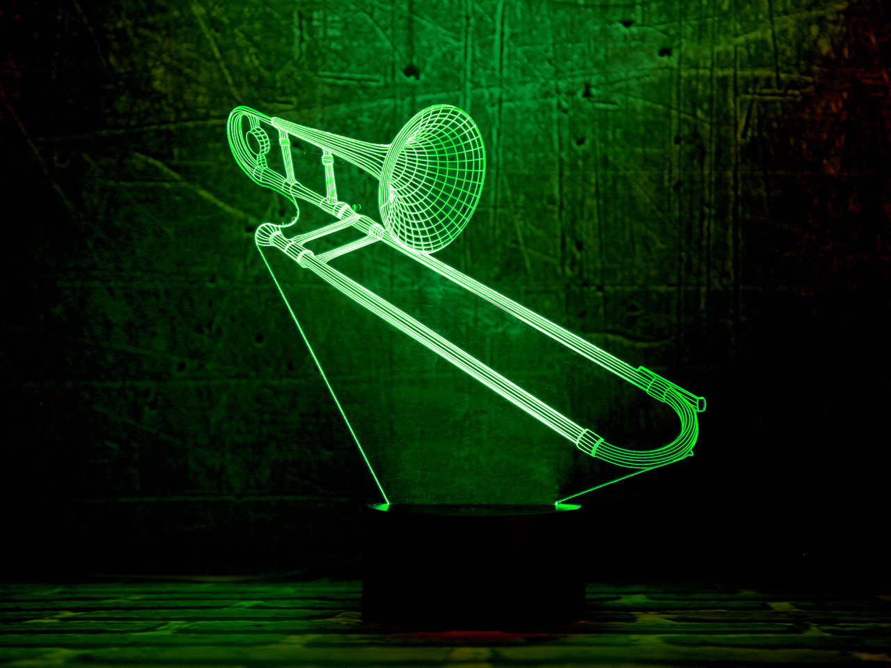 """Сменная пластина для 3D светильников """"Труба 3"""" 3DTOYSLAMP"""