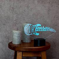 """Сменная пластина для 3D светильников """"Гитара 3"""" 3DTOYSLAMP, фото 1"""