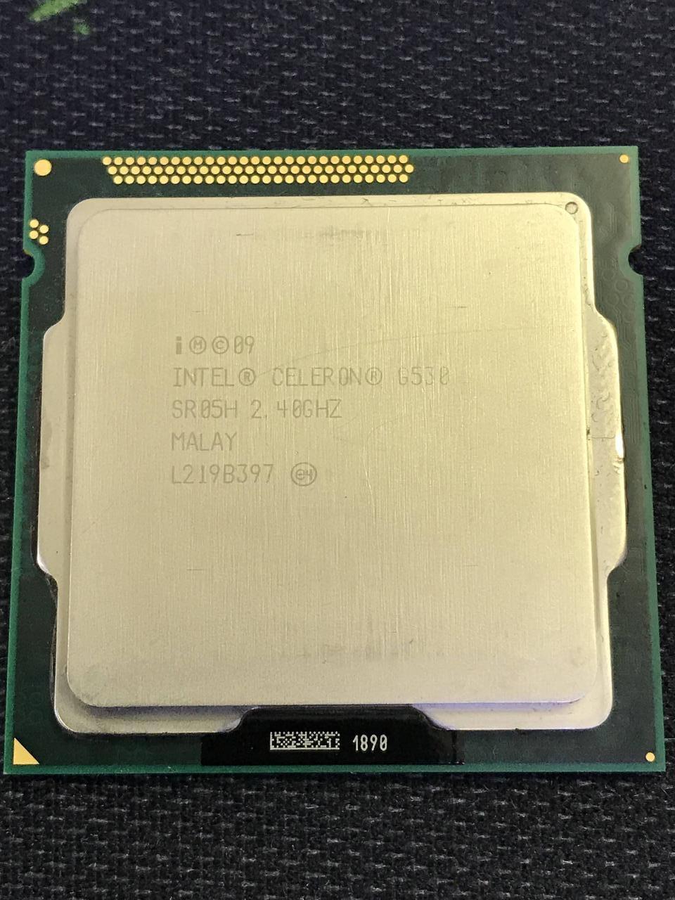 Процессор Intel Celeron G530 - 1155 сокет - ПК