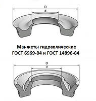 Манжета гидравлическая 20х12х5 ГОСТ 6969-54
