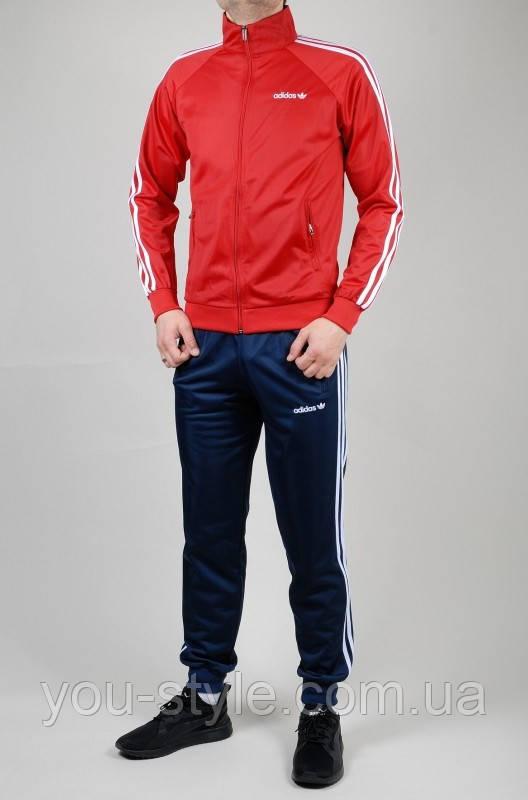 Мужской спортивный костюм Adidas 5187 Красный