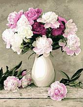 Картина за номерами Ніжні квіти