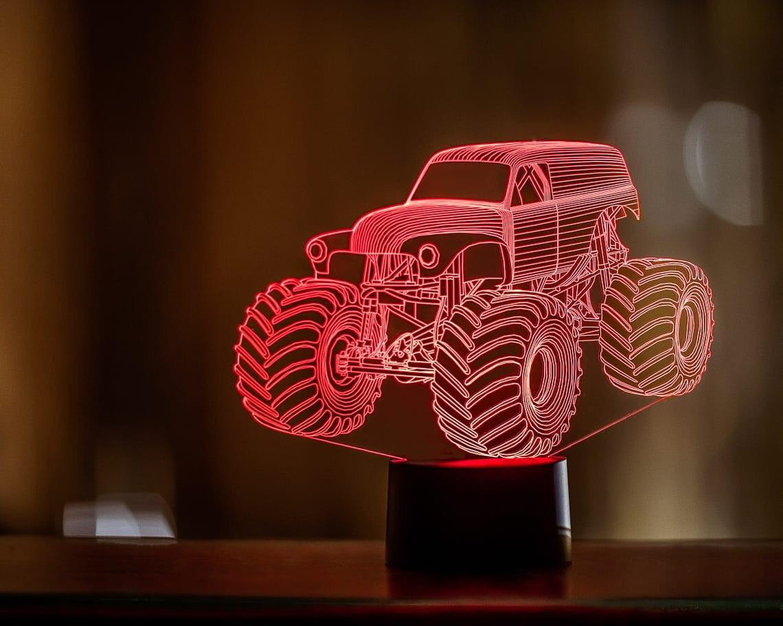 """3D светильник """"Автомобиль 38"""" 3DTOYSLAMP"""