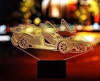 """Сменная пластина для 3D светильников """"Автомобиль 39"""" 3DTOYSLAMP, фото 1"""