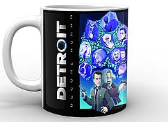 Кружка GeekLand Detroit: Become Human  Детройт: Стать человеком персонажи DR.02.001