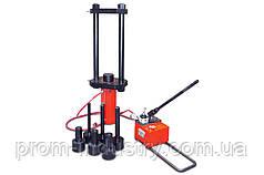 Выпрессовщик пальцев и втулок гусеничных цепей гидравлический мобильный «ВПТЦ» (ВПТЦ50 Лайт)