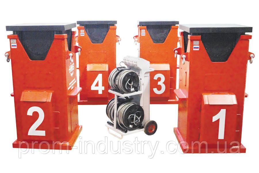 Система «Атлант» для синхронного подъёма и вывешивания карьерных экскаваторов (CLS-А600)