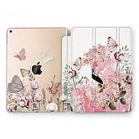 Чехол книжка, обложка для Apple iPad (Полевые бабочки) модели Pro Air 9.7 10.5 11 12.9 mini 1 2 3 4 айпад про эйр 2017 2018 2019 case smart cover