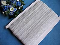Бейка - резанка серебро (лента-стрейч) 1.5 см