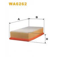 Фильтр воздушный SCUDO JUMPY EXPERT 1.9D/1.9TD/2.0HDI 96-06 WIX WA6262