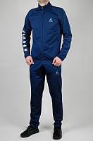 Мужской спортивный костюм Jordan 5179 Тёмно-синий