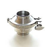 Клапан обратный нержавеющий AISI 304 DN25 DIN11851 сварка-сварка, фото 9