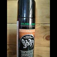 Краска  Salamander Professional Темно-Бежевый 072 для замши нубука велюра 250 мл, фото 1