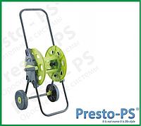 Тележка для шланга Presto-PS 3301 (с колесами) 45 м 1/2