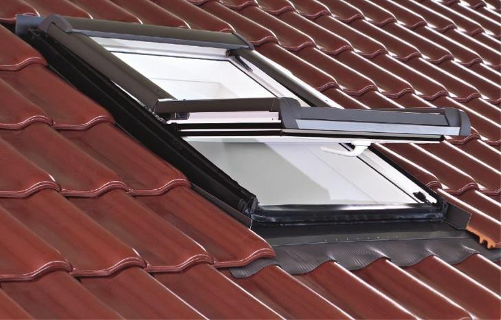 Вікно мансардне Designo WDF R48 K W AL 11/14