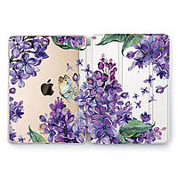 Чехол книжка, обложка для Apple iPad (Пурпурная сирень) модели Pro Air 9.7 10.5 11 12.9 mini 1 2 3 4 айпад про эйр 2017 2018 2019 case smart cover