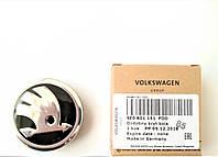 Колпачек заглушка оси легкосплавного титанового диска колеса Шкода Октавия ТУР А5 А7 Фабиа Суперб Йети Рапид, фото 1