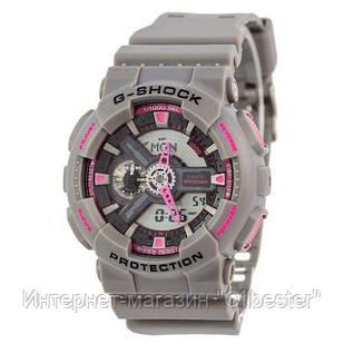 Часы Casio G-Shock AAA GA-110 Grey-Pink