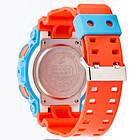 Часы Casio G-Shock AAA GA-110 Blue-Orange, фото 2