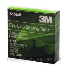 3M™ 06314 Трафаретная лента 8 прорезей/ 1.58 мм, 25 мм x 13.9 м