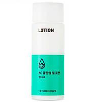 Лечебный лосьон для проблемной кожи лица ETUDE HOUSE AC Clean Up Gel Lotion 30 мл