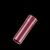 Труба водостічна 3м Fitt 125 червоний