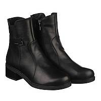 VM-Villomi Женские зимние ботинки из натуральной кожи с резинкой
