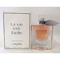 Сладкие женские духи LANCOME La Vie Est Belle 75ml парфюмированная вода ТЕСТЕР, цветочно-фруктовый аромат