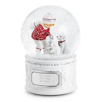 Новогодний подарок под елку Музыкальный шар