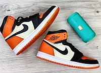 Мужские кроссовки Nike Air Jordan 1 Retro, Реплика, фото 1