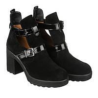 VM-Villomi Стильные женские замшевые ботинки с ремнями