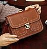 Женская сумка почтальон-сундучок на защелке, фото 3