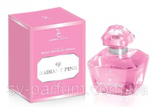 Туалетная вода женская DC Radiant Pink 100ml