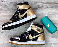 Чоловічі кросівки Nike Air Jordan 1 Retro, Репліка, фото 1