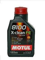 Motul 8100 X-CLEAN FE 5W-30, 1L, 814001/104775/814101