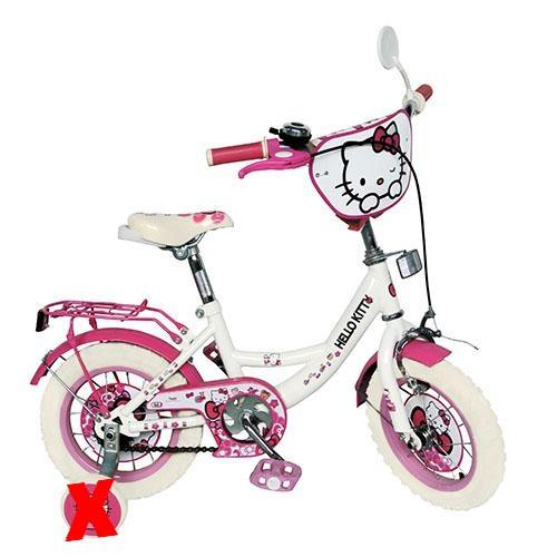 "Hello Kitty (Хелло Китти) HK0077 w 20"" белые колеса Лицензия"