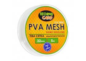 PVA сетка медленно растворимая 32мм, 5м.