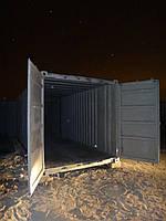 Блок-контейнер, дополнительные двери, 20 футов