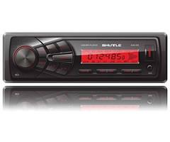 Автомагнітола SHUTTLE -335 Black/Red USB ресивер