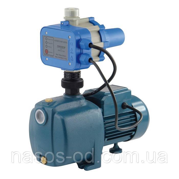Насосная станция гидрофор Насосы+Оборудование AUJEX500/E1(A) для воды 0.67кВт Hmax38м Qmax70л/мин