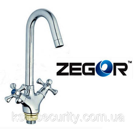 Смеситель для кухни ZEGOR DML4 TOF-827 (Зегор), фото 2