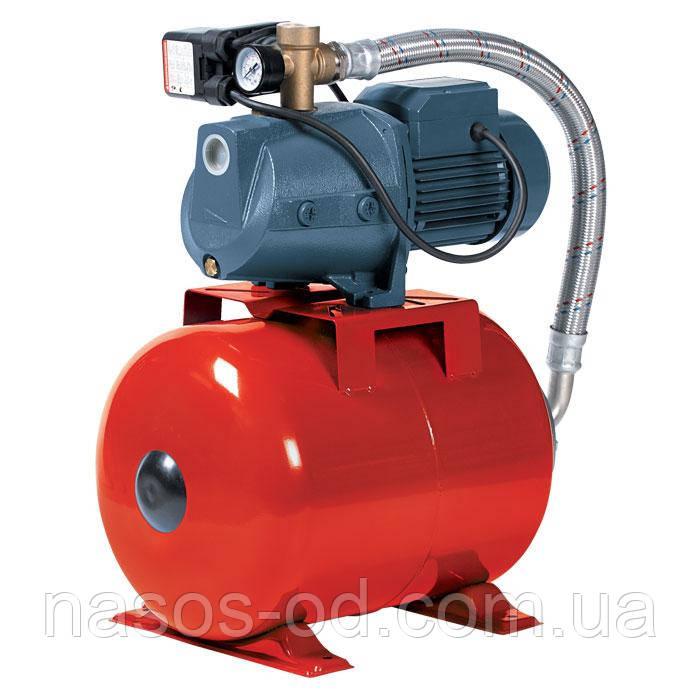 Насосная станция гидрофор Насосы+Оборудование AUJSWm1B/24L для воды 0.61кВт Hmax40м Qmax45л/мин 24л