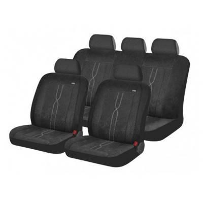 Автомобильные чехлы на сиденье Hadar Rosen LEADER Черный 10408, фото 2