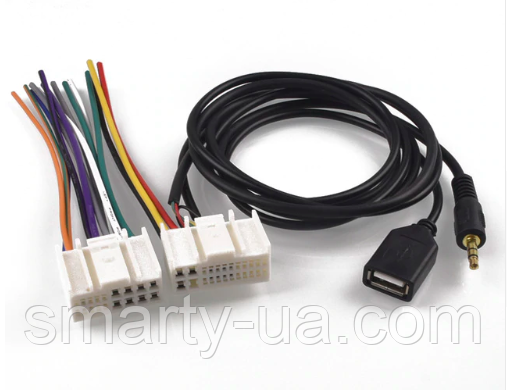 CD проигрыватели DVD жгут Mp3 AUX кабель USB адаптер разъем для Kia K2 K5 Sportage для hyundai IX35 Elantra