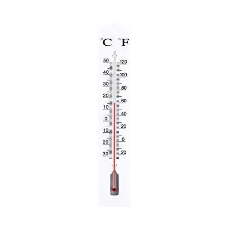 Садовый термометр Jambo Белый
