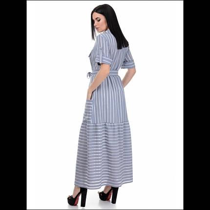 Платье, цвет синий, фото 2